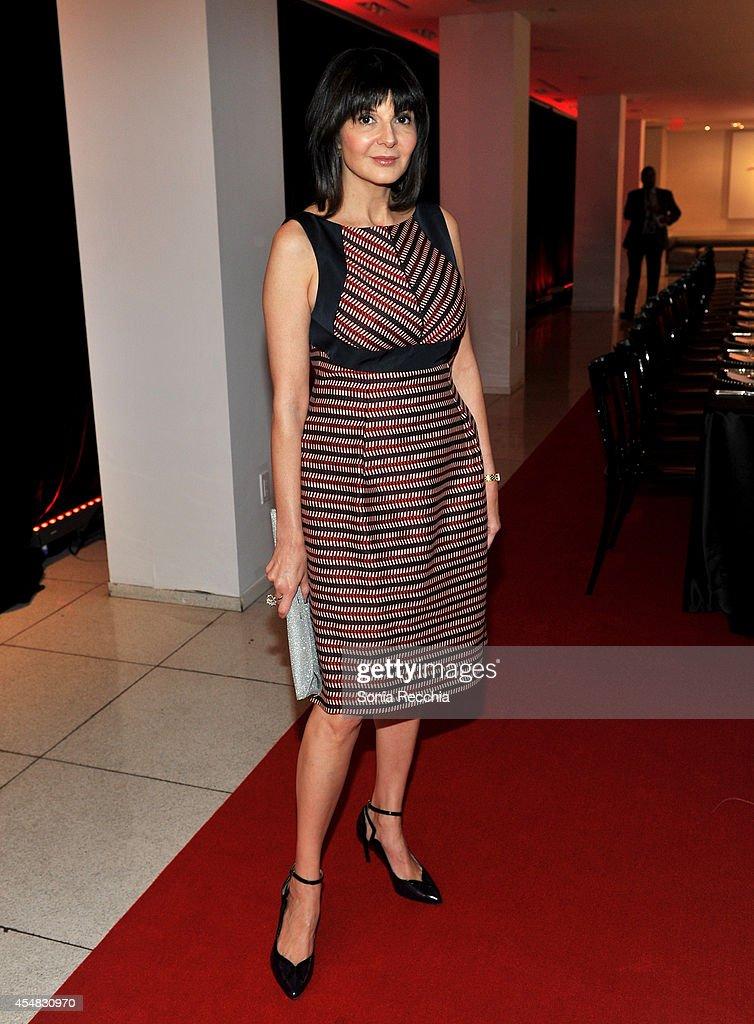 Fashion magazine editor bernadette morra attends a variety dinner
