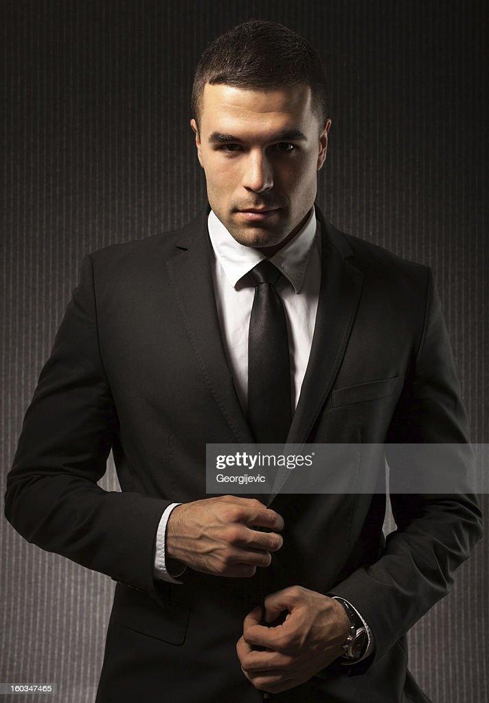 Fashion man : Stock Photo