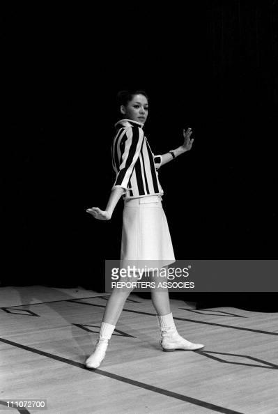 Fashion Mini Dress Courreges In France On January 09 1966 Courreges mini dress