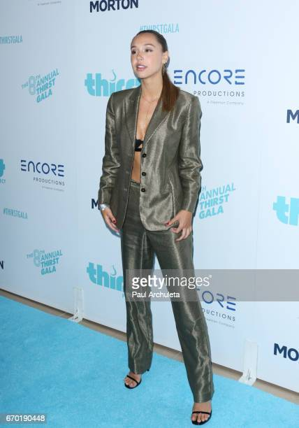 Fashion Model Alexis Ren attends the 8th annual Thirst Gala at The Beverly Hilton Hotel on April 18 2017 in Beverly Hills California
