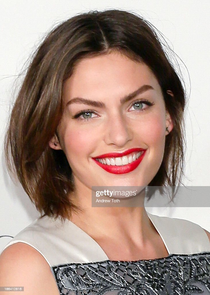 Fashion model Alyssa Miller attends the American Ballet Theatre 2013 Opening Night Fall gala at David Koch Theatre at Lincoln Center on October 30, 2013 in New York City.