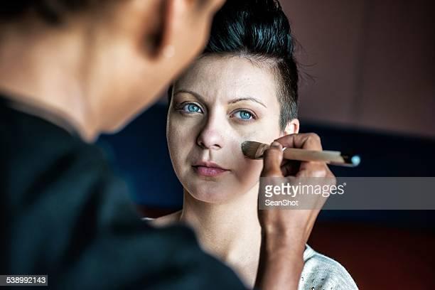 Fashion Model and Make Up Artist
