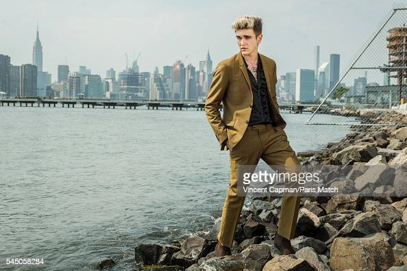 Fashion model and musician GabrielKane DayLewis is photographed for Paris Match on May 27 2016 in New York City United States