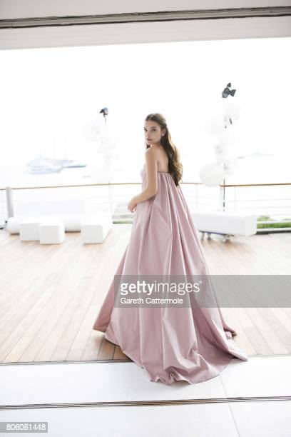 Fashion model Barbara Palvin is photographed in Cannes France on May 24 2017