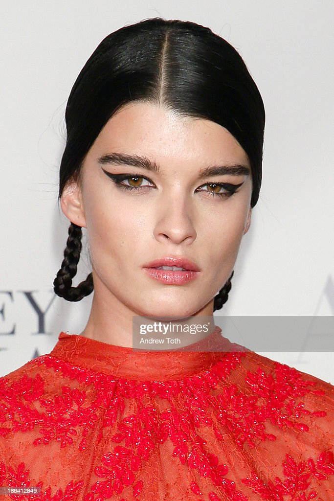 Fashion model Crystal Renn attends the American Ballet Theatre 2013 Opening Night Fall gala at David Koch Theatre at Lincoln Center on October 30, 2013 in New York City.