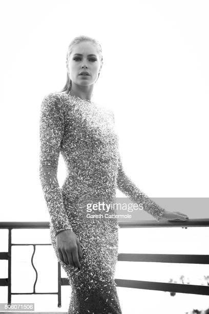 Fashion model Doutzen Kroes is photographed in Cannes France on May 24 2017