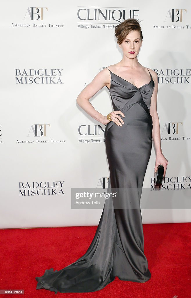 Fashion model Elettra Wiedemann attends the American Ballet Theatre 2013 Opening Night Fall gala at David Koch Theatre at Lincoln Center on October 30, 2013 in New York City.