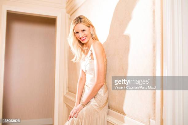 Fashion model Karolina Kurkova is photographed for Paris Match on October 28 2012 in Berlin Germany