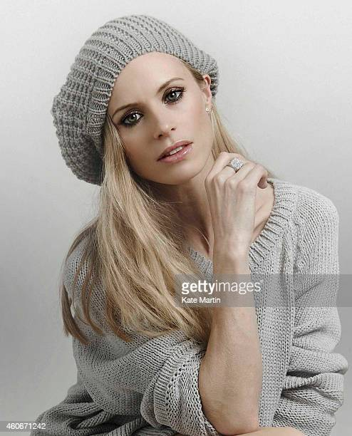 Fashion model Laura Bailey is photographed on October 1 2009 in London England