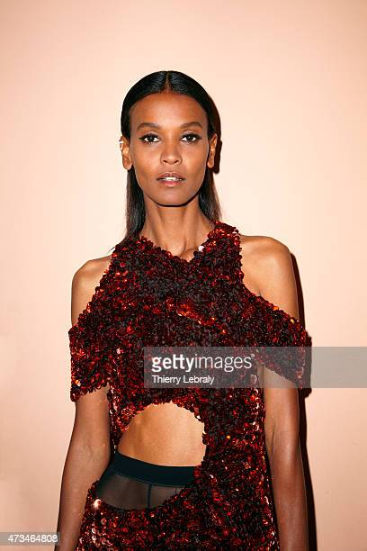Fashion model Liya Kebede is photographed on May 14 2015 in Cannes France