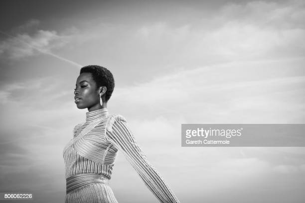 Fashion model Maria Borges is photographed in Cannes France on May 24 2017