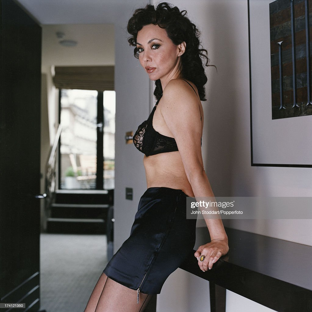 Fashion model Marie Helvin, circa 1995.
