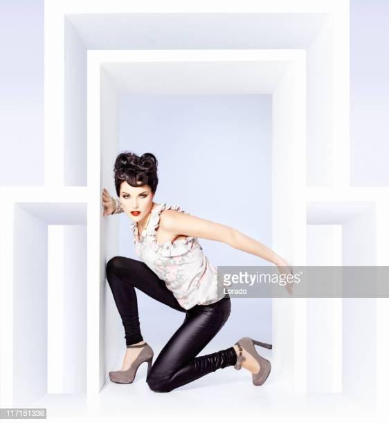 Mode Models Posieren