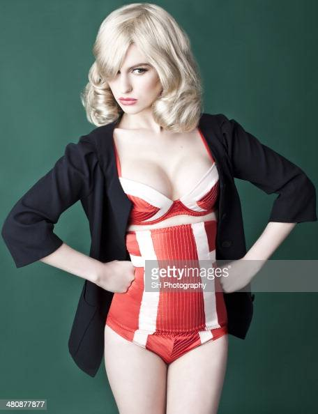 Fashion model Tali Lennox is photographed for View of the Times magazine on February 22 2012 in London England