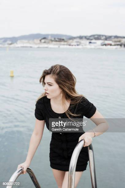Fashion model Thylane Blondeau is photographed in Cannes France on May 18 2017