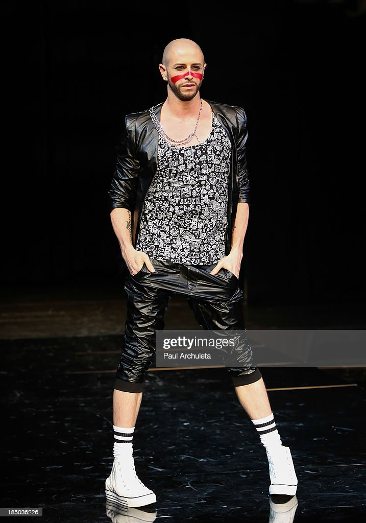 Fashion Model walks the runway at iiJin's spring/summer 2014 'The Glamorous Life' fashion show at Avalon on October 16, 2013 in Hollywood, California.