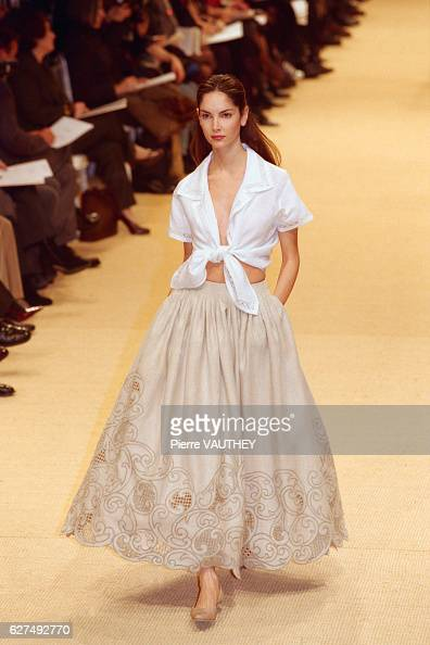 Half skirt stock photos and pictures getty images for American haute couture designers