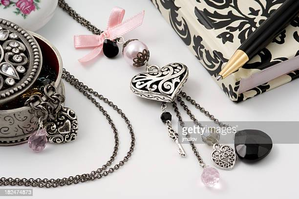 Fashion Necklace Closeup