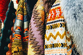 Textile and patterns of clothes