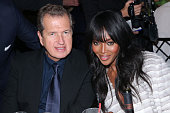 Fashion photographer Mario Testino and model Naomi Campbell attend the International Center of Photography 31st annual Infinity Awards at Pier Sixty...