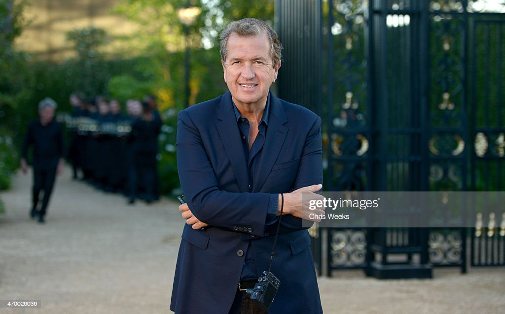 Fashion photographer <a gi-track='captionPersonalityLinkClicked' href=/galleries/search?phrase=Mario+Testino&family=editorial&specificpeople=203087 ng-click='$event.stopPropagation()'>Mario Testino</a> attends the Burberry 'London in Los Angeles' event at Griffith Observatory on April 16, 2015 in Los Angeles, California.