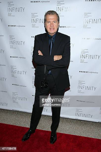 Fashion photographer Mario Testino attends the International Center of Photography 31st annual Infinity Awards at Pier Sixty at Chelsea Piers on...