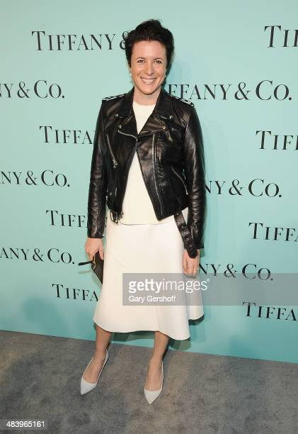Fashion photographer/ writer Garance Doré attends the 2014 Tiffany's Blue Book Gala at the Guggenheim Museum on April 10 2014 in New York City