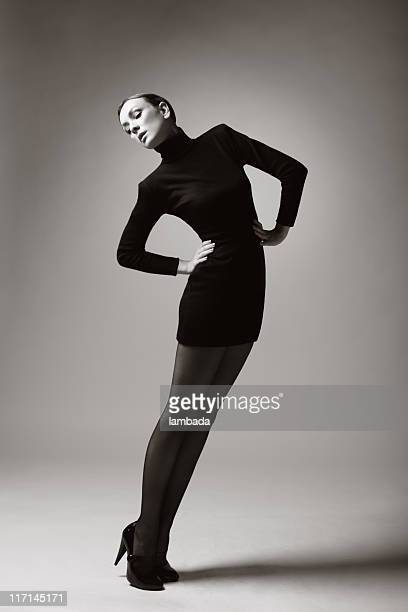 Mode-Porträt eines schönen Frau