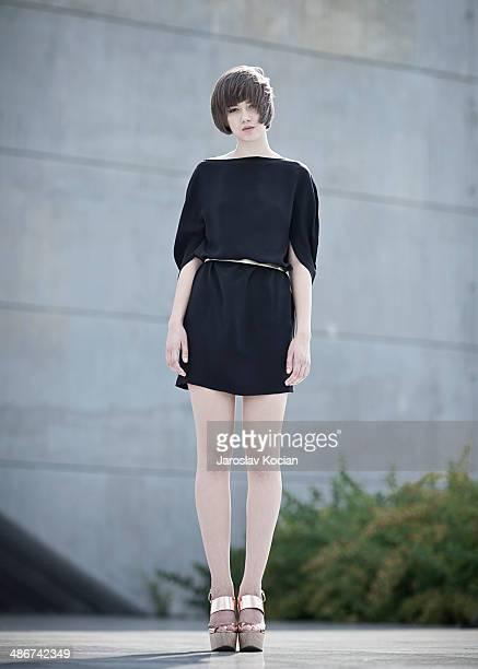 Fashion portrait of Lucy