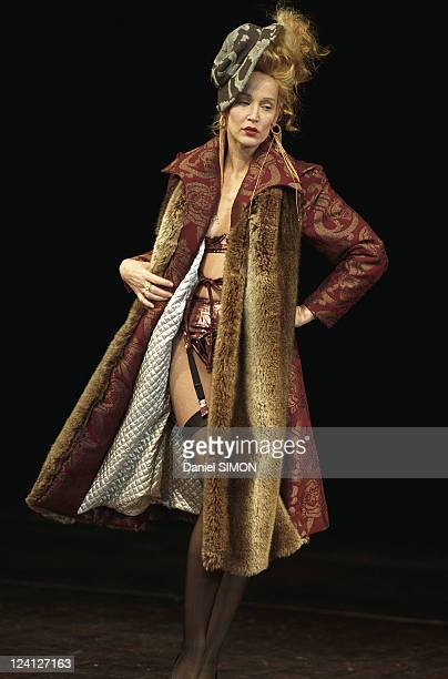 Fashion Ready to wear Fall Winter 97 98 In Paris France On March 11 1997 Vivienne Westwood