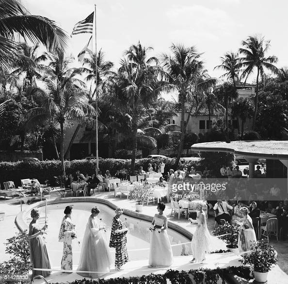 Palm beach fashion show pictures getty images for Pool fashion show