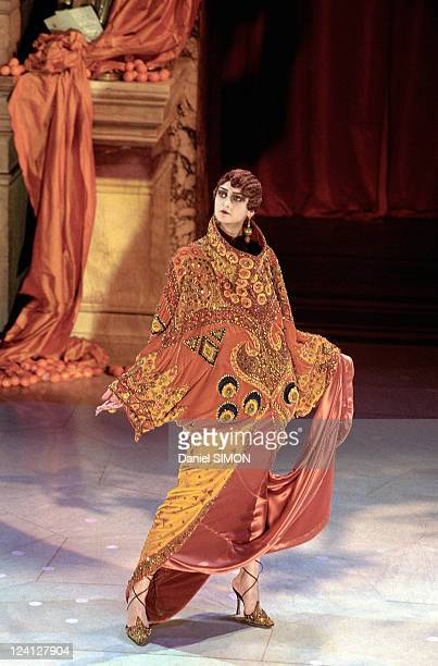 Fashion Show Haute Couture Spring Summer 1998 In Paris France On January 20 1998 Dior