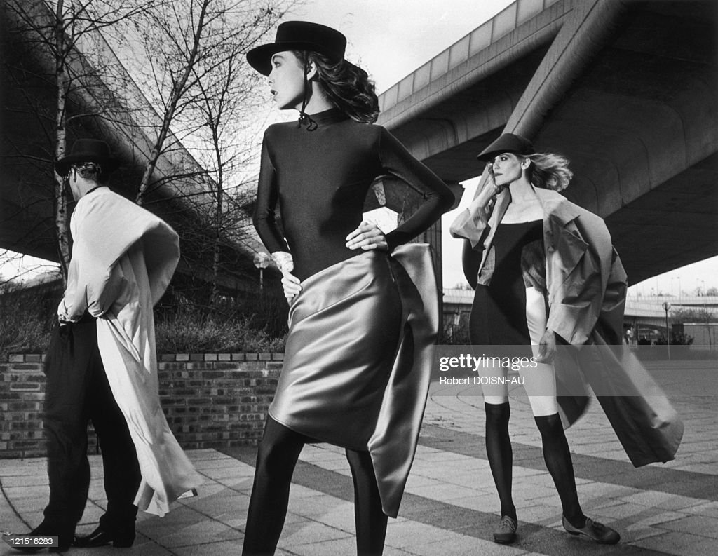 Fashion Show Outdoors, Stylist Denise Sarrault