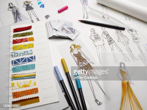Fashion Sketches Still Life