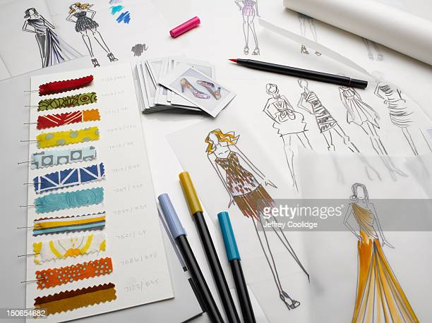 Fashion Sketches Still Life