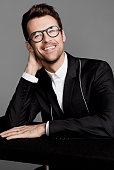 Fashion stylist and television host Brad Goreski is photographed for Publicity Shoot on March 24 2015 in Los Angeles California