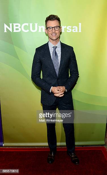 Fashion Stylist and Television Presonality Brad Goreski attends the NBCUniversal press day 2 during the 2016 Summer TCA Tour at The Beverly Hilton...