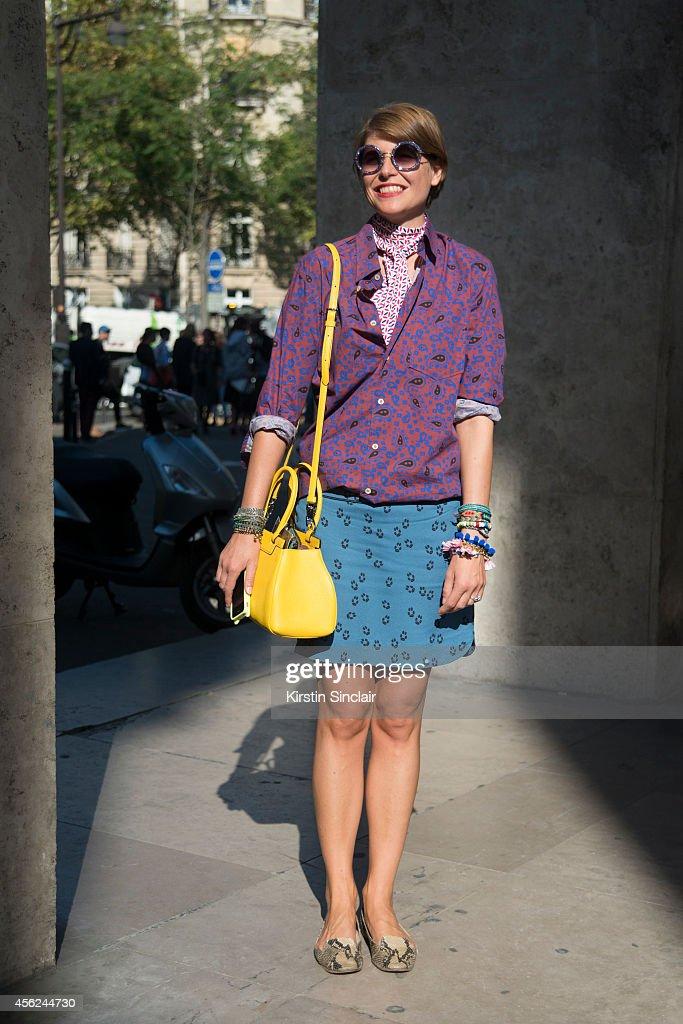 Street Style - Paris Fashion Week, Womenswear S/S 2015 : September 26th