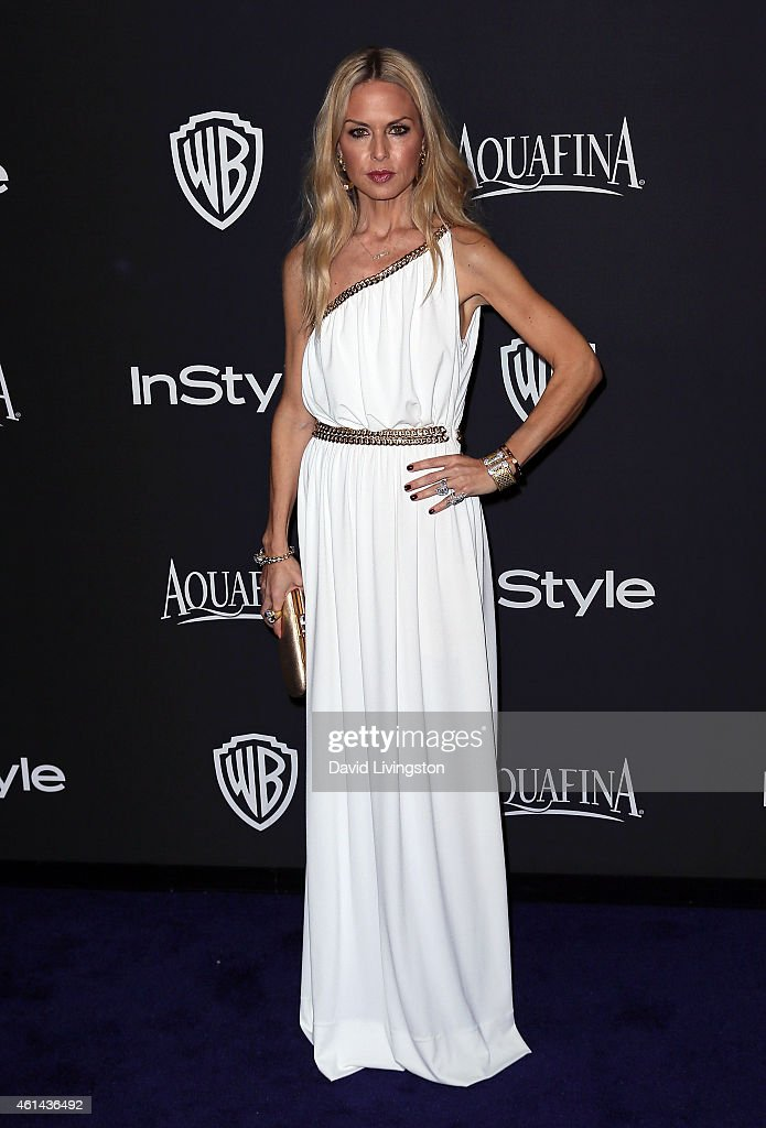 Fashion stylist Rachel Zoe attends the 2015 InStyle and Warner Bros. 72nd Annual Golden Globe Awards Post-Party at The Beverly Hilton Hotel on January 11, 2015 in Beverly Hills, California.
