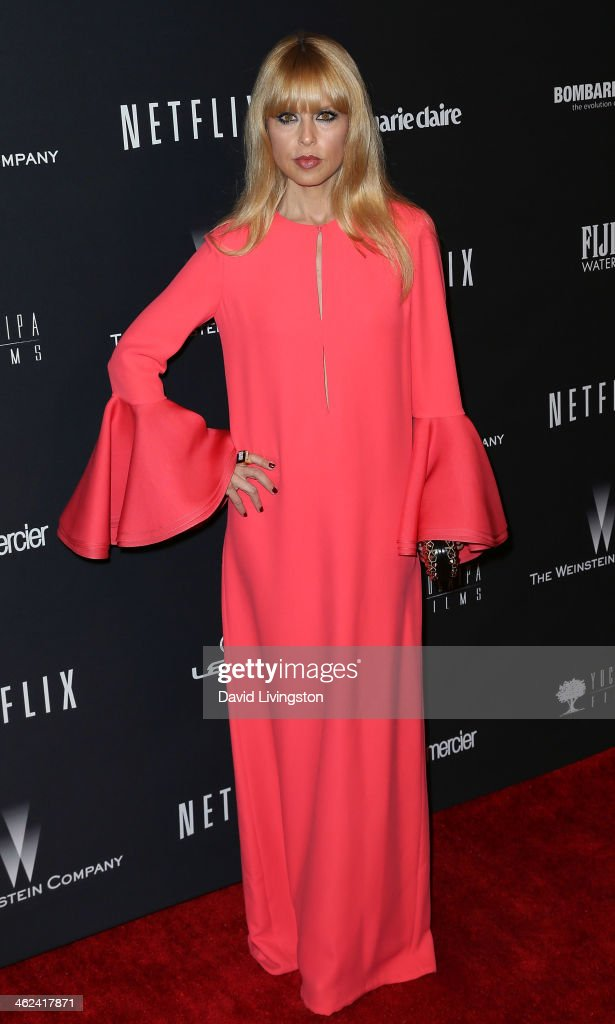 Fashion stylist Rachel Zoe attends The Weinstein Company's 2014 Golden Globe Awards After Party at The Beverly Hilton hotel on January 12, 2014 in Beverly Hills, California.