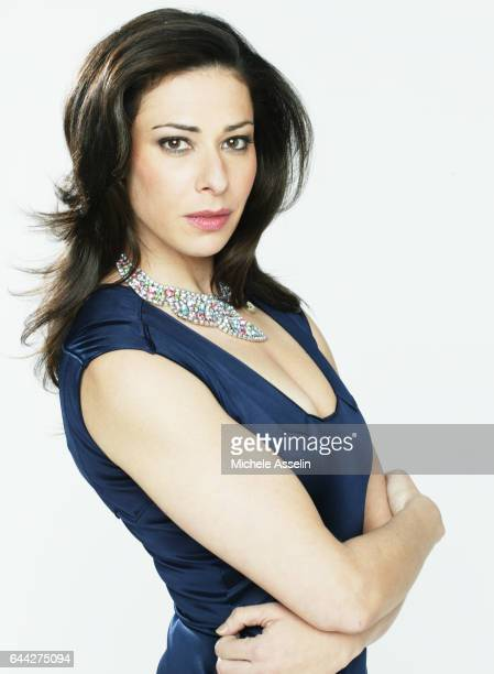 Fashion stylist Stacy London is photographed for TV Guide Magazine on November 4 2004 in New York City