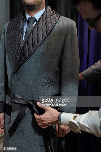 The MadeToMeasure For Men Scabal House In Paris Menswear the largely manufactured so artisanal and scratched at halfmeasure industrial and editing...