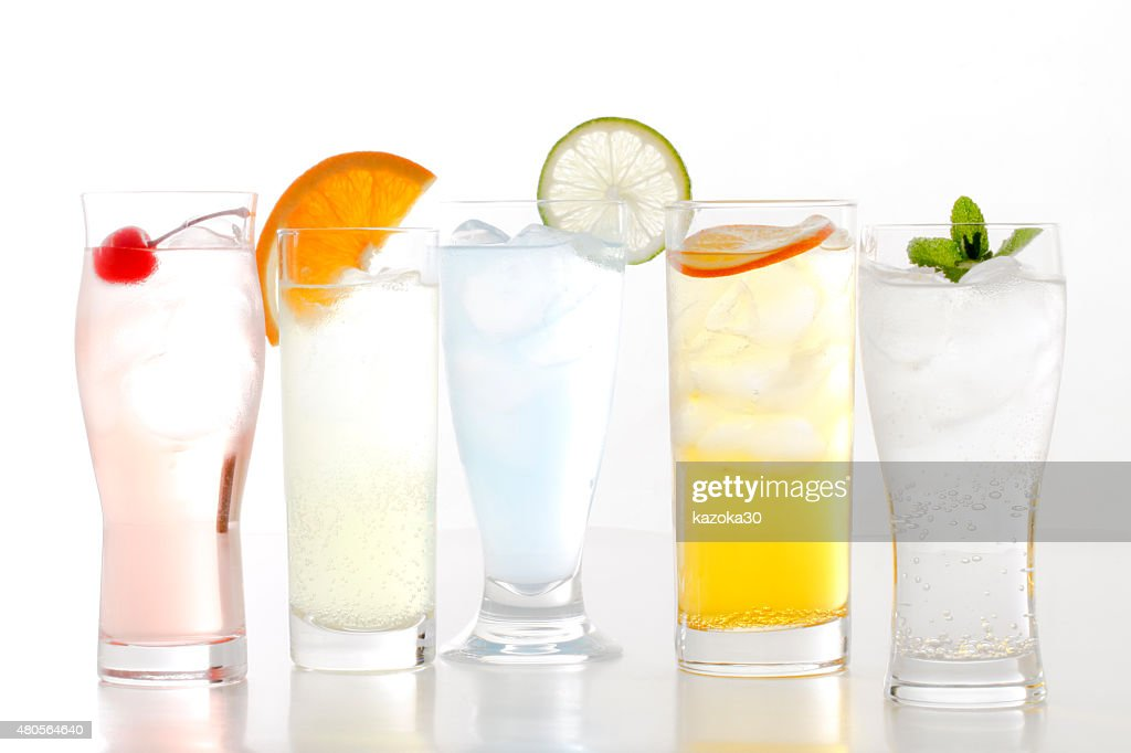 Fashionable cold drink : Stock Photo