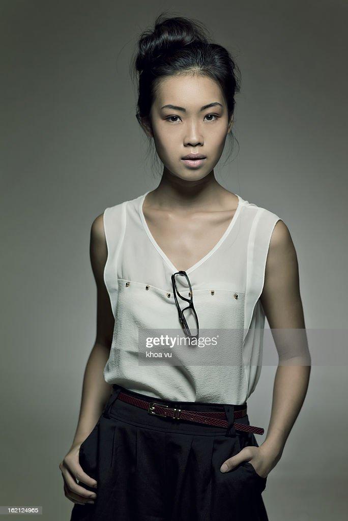 Fashionable female : Stock Photo