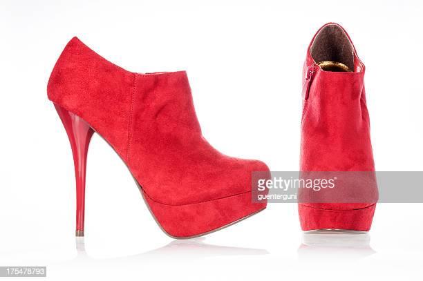 Moda tacchi alti stivali alla caviglia, ultima collezione Autunno/Inverno