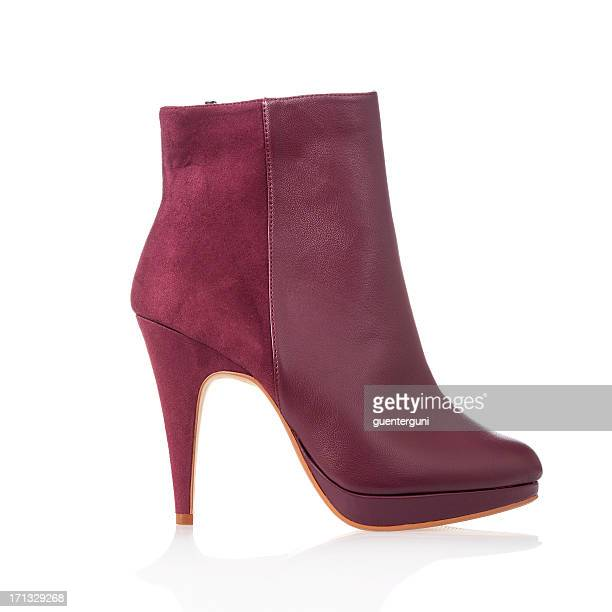 Fashionable high heels ankle boot