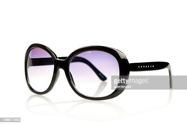 Mode lunettes de soleil en noir et violet des lunettes.