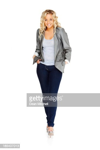 Fashionably Dressed Young Woman