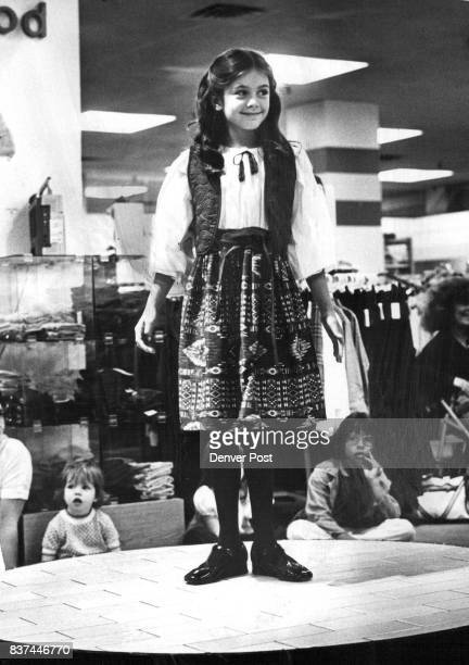 Fashions Children The Navago Indian inspired view Shirt Scroll ***** Credit Denver Post