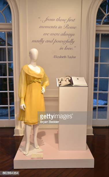 Fashions on display during Actress Camilla Belle CoHosts Elizabeth Taylor Love White Diamonds New Fragrance Launch on October 17 2017 in New York City